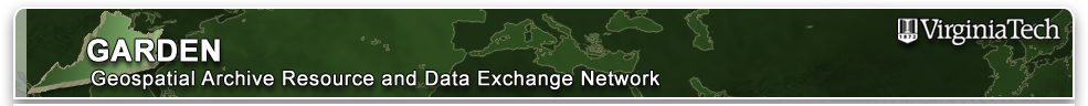 Garden: Geospatial Archive Resource and Data Exchange Network